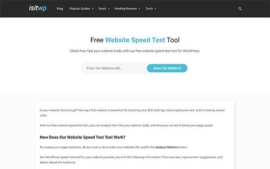 ابزارهای برتر تست سرعت سایت وردپرس